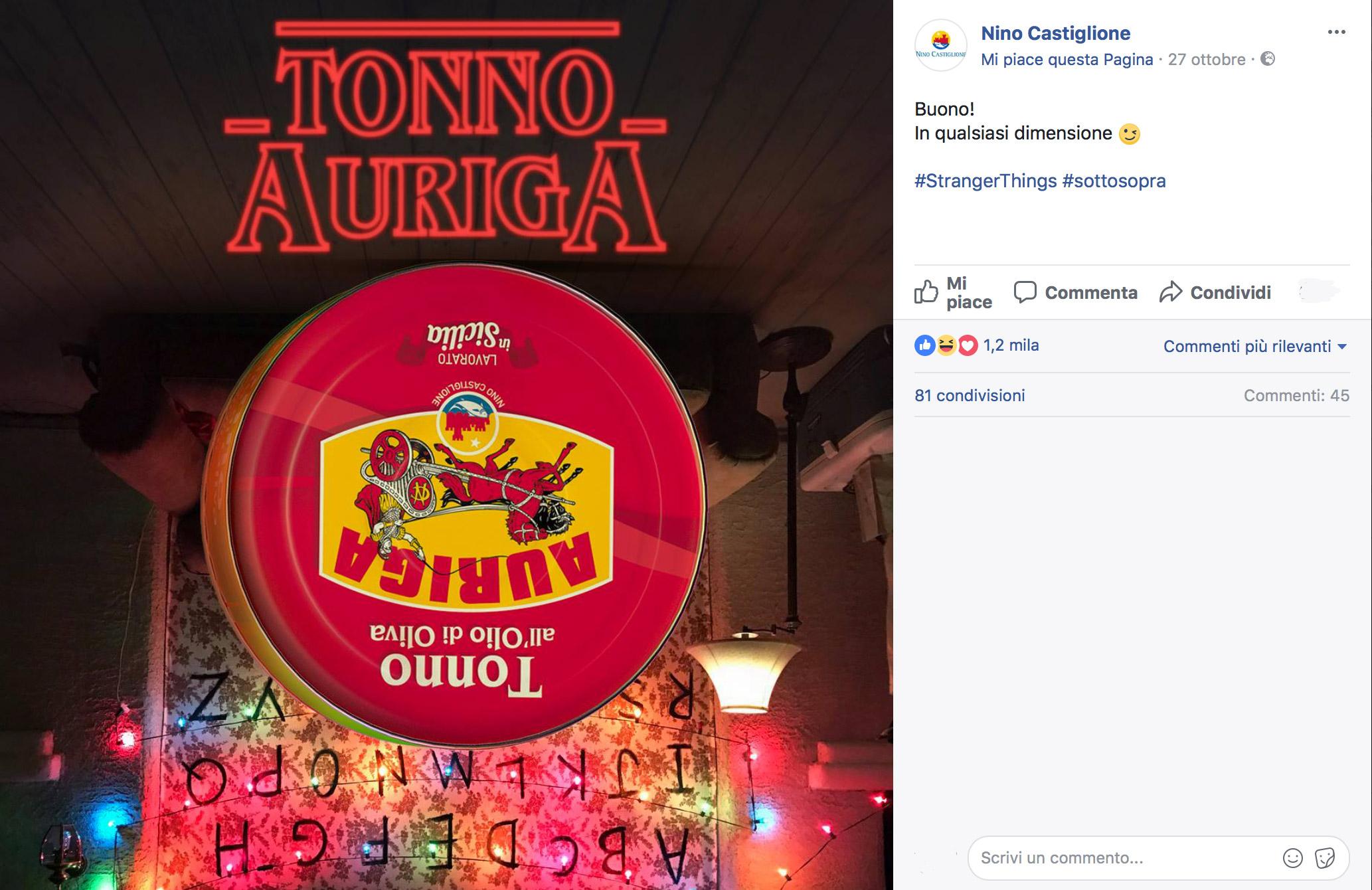 social network - Nino Castiglione - Tonno Auriga