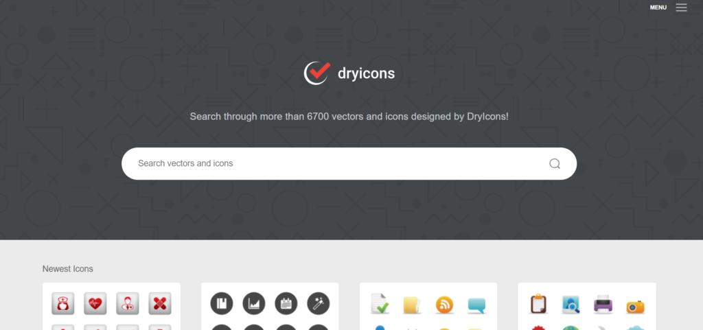 I dieci migliori siti web di risorse vettoriali gratuite per i tuoi progetti - dryicons