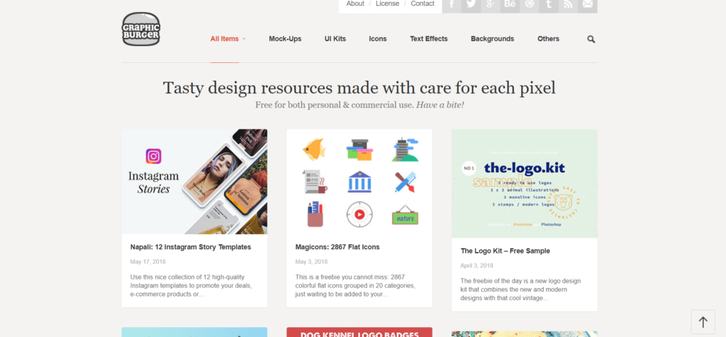 I dieci migliori siti web di risorse vettoriali gratuite per i tuoi progetti - graphicburger