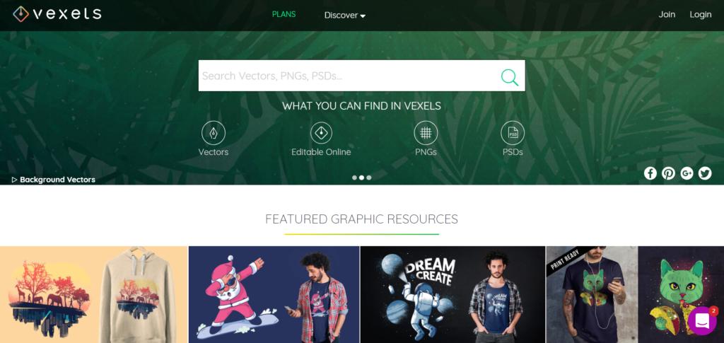 I dieci migliori siti web di risorse vettoriali gratuite per i tuoi progetti - vexels